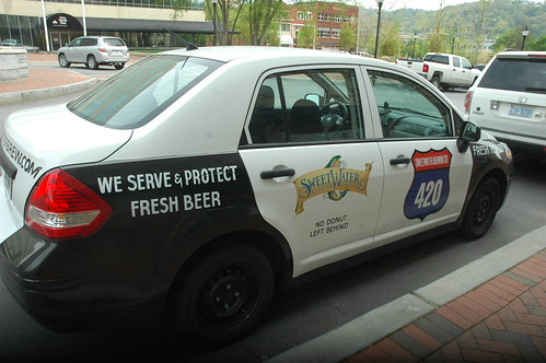 On the streets of Ashvegas: The Sweetwater beer police