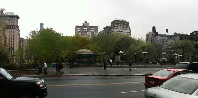 union square this morning #walkingtoworktoday