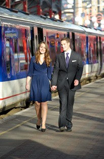 Photo of Will & Kate Lookalikes from Chiltern Railway - Anthony Upton, Adam James