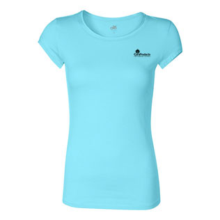 Promotional Items-alo - Ladies' Short Sleeve Bamboo T-Shirt 17023