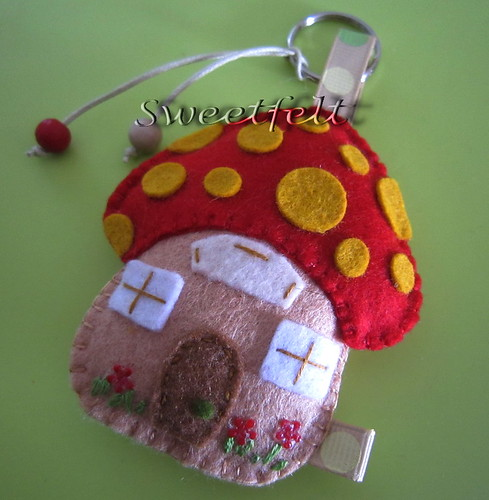 ♥♥♥ Vamos apanhar cogumelos? by sweetfelt \ ideias em feltro