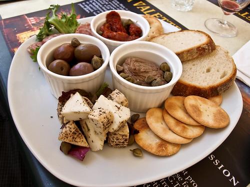 Platos típicos: Maltese Platter