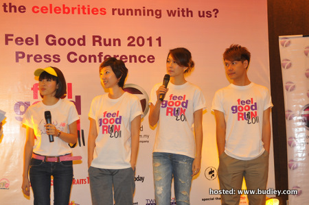 Mayjune Tan, Brenda Chiah, Debbie Goh, Leslie Chai
