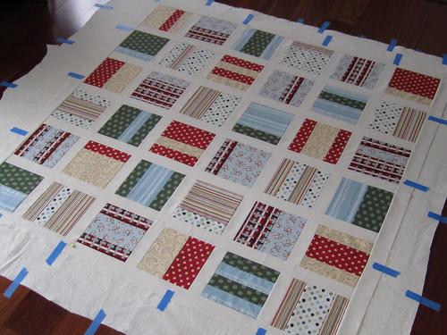 Monkey quilt step 5