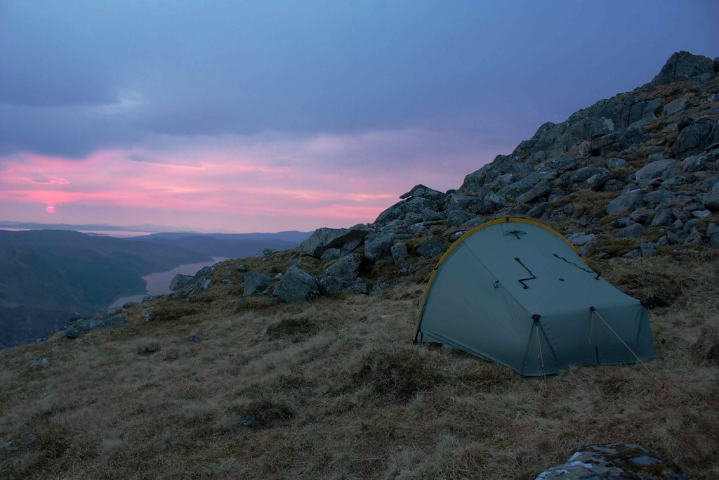 Wild Camping on the Five Sisters