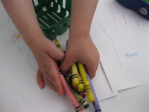 Crayon management