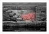 red net (Andrea Rapisarda) Tags: red blackandwhite italy net port cutout italia stones details porto sicily network dettagli rosso molo catania sicilia biancoenero rete corde selectivecolour acitrezza nikon80200mm pietralavica grovigli coloreselettivo rapisarda andrearapisarda