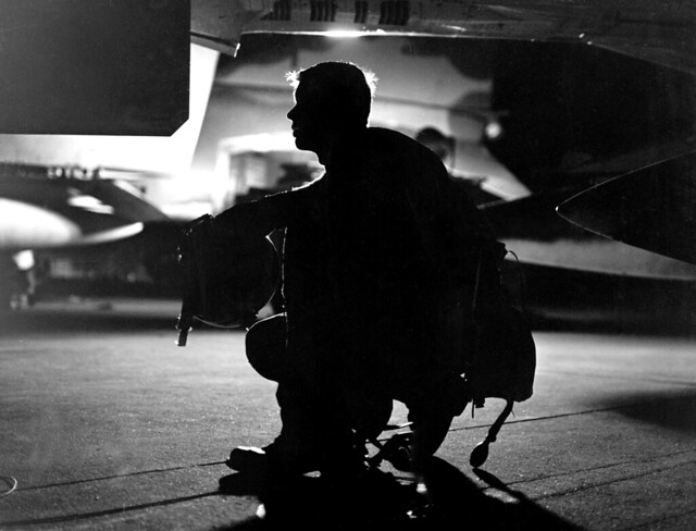 Night Flying in F-4C Phantom - 1967