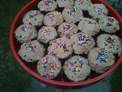 Mackenzie's Birthday Decadent Chocolate Cupcakes