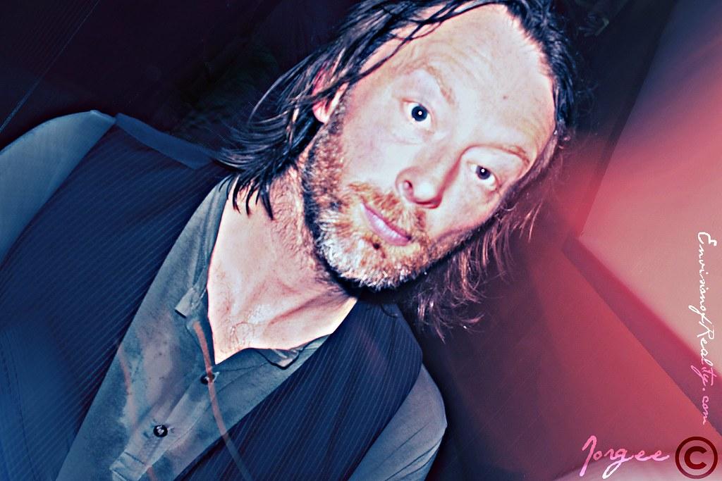 Thom Yorke and  Flying Lotus  DJ set at Low End Theory 5691083825_881f7fdb2d_b
