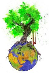 El mundo gira sobre una cepa