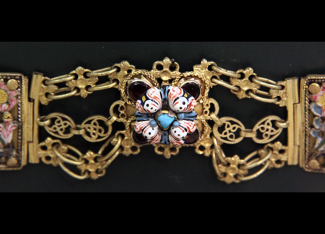 Detail - Hungarian 18th century jewellery