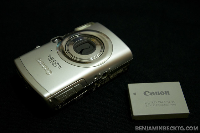 Disassembling Canon Digital Ixus 950IS