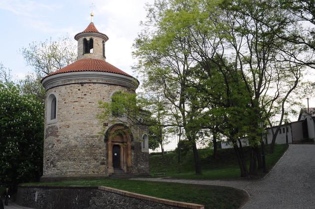 Rotonda románica de San Martin en la fortaleza Vy