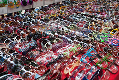 Sunglasses at a Bangkok Stall