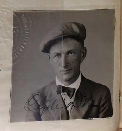 Clyde DeVinna 1922