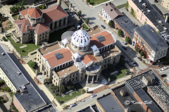 Washington County Courthouse (cssna) Tags: county copyright washington nikon pennsylvania aerial pa rights western wpa nikkor reserved f28 180mm d700 cssna