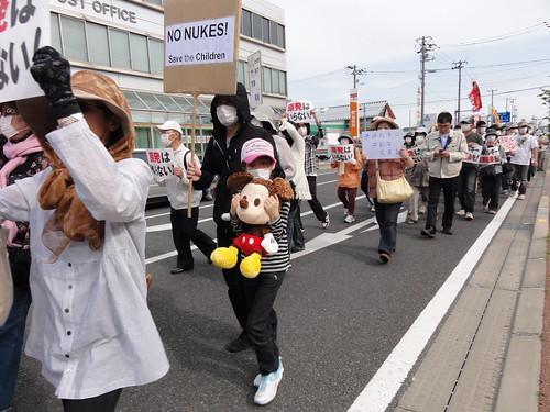 いわき市で反原発デモが開催、大手メディアが報道しなかったデモの写真30枚