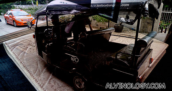The Tuk-tuk service provided by Tenface