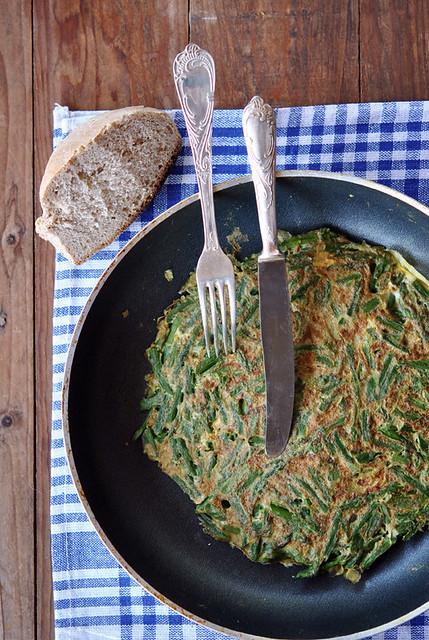 2.Frittata con asparagi