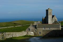 The Marisco Tavern and the church (Alexandre Moreau | Photography) Tags: uk england island lundy lundyisland isleoflundy