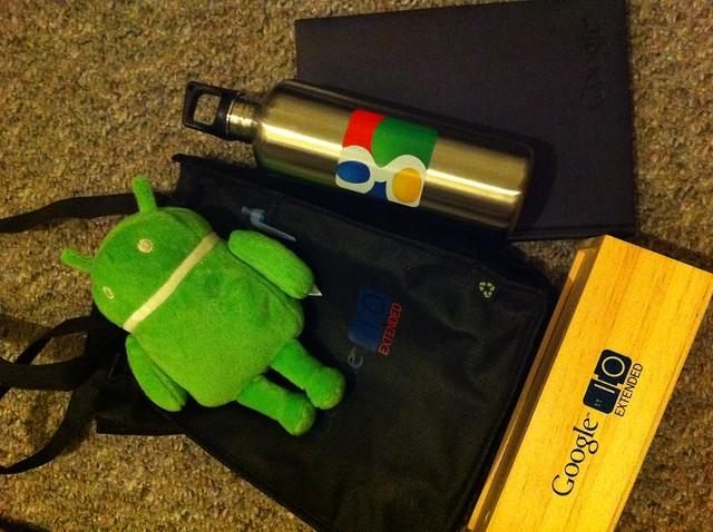 Google I/O Extended Stuff