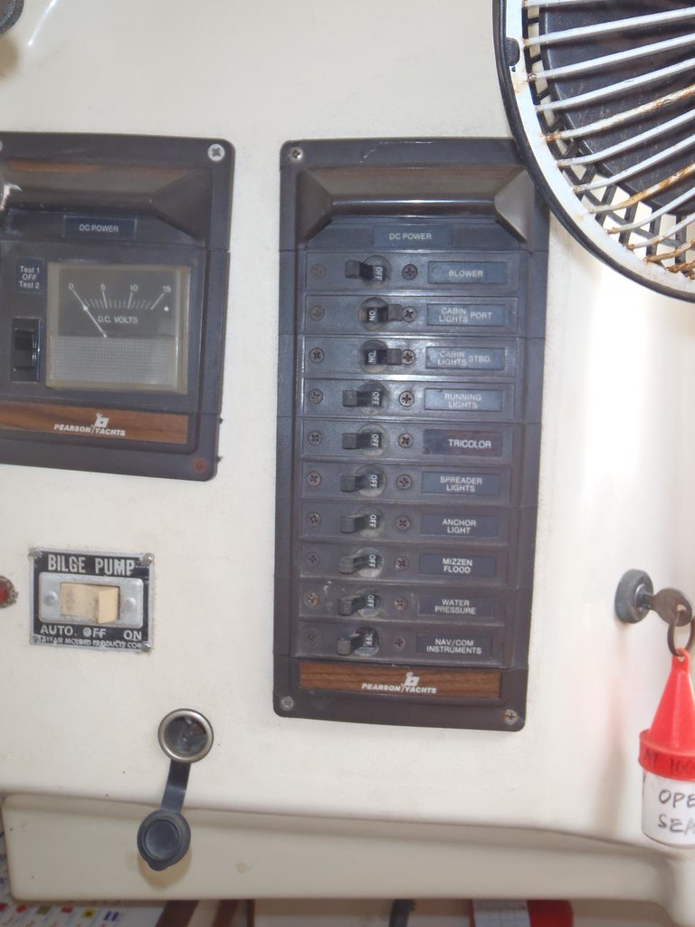 DC Electrical Panel