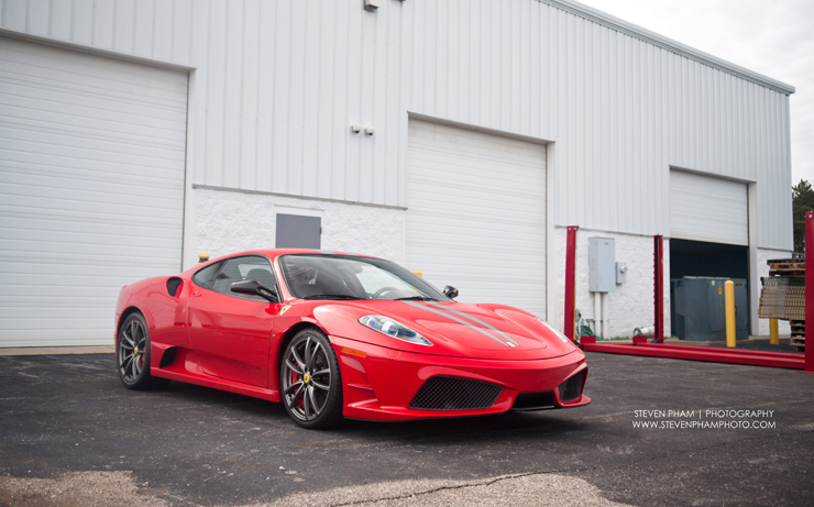 beautiful ferrari 430 scud final
