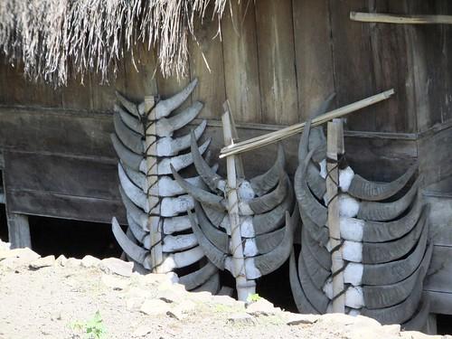 Bena traditional village