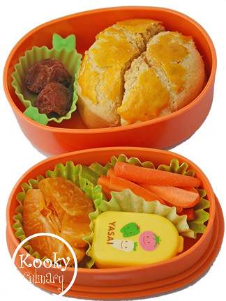 bento #153 - It's an orangey day