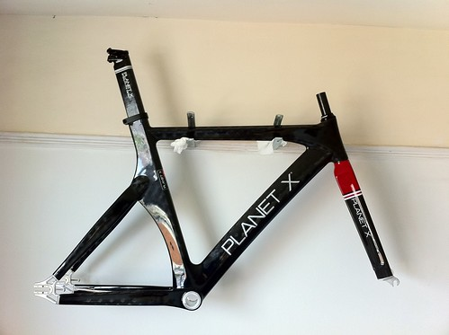 For Sale: Planet X carbon track frame and TT forks + extras | LFGSS