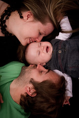 Trio (Kimord) Tags: family famille portrait baby canon kid child 7d enfant bb victoriaville canon7d kimdupont kimord