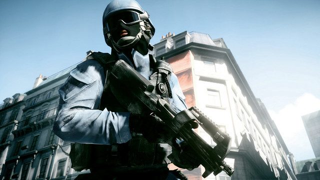 Battlefield 3 - Patrolling the streets