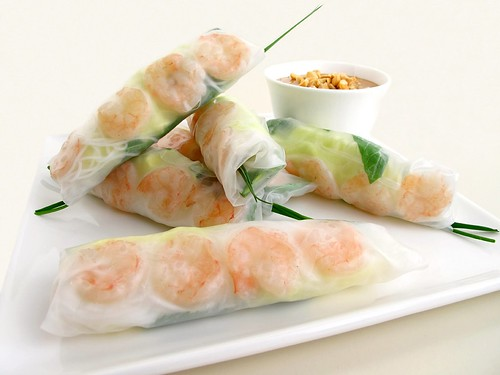 Gastronomer's Guide: Vietnamese Shrimp-and-Herb Summer Rolls