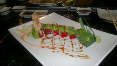 A must everytime in Toronto..Yamato dragon roll by ngoldapple