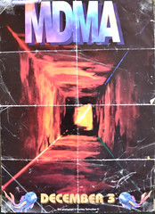 MDMA main front (Mr Clicker / Davin) Tags: party festival club dance mr lol sydney australia davin posters rave 1994 flyers mania mdma mega clicker ultrasonic revesby ravesby