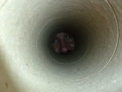 Fuzzy at the end of a tube