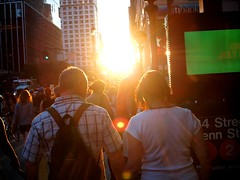 The End of the Day (181/365) (Jack Amick) Tags: new york city sunset sun building love glare bright sunny olympus relationship flare 365 ep1 project365