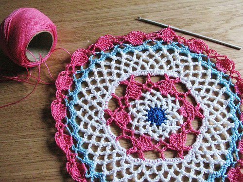 The first doily!