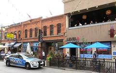 Greektown, Detroit, MI (Hear and Their) Tags: greektown pegasus restaurant detroit michigan police car level two bar rooftop exodus lounge golden fleece