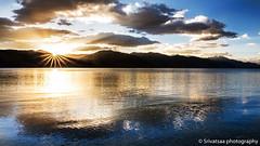 Sun rise in Pangong Lake (srivatsaa) Tags: people lake pangonglake sunrise sunriseinpangonglake life clouds reflectionofsky morning ladakh mountains himalayas reflection landscape natgeo natgeotraveller lonelyplanet lonelyplanetindia india cold pangong tso travelphotography travel