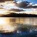 Sun rise in Pangong Lake