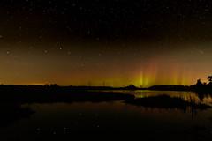 Big Dipper and Aurora-46222.jpg (Mully410 * Images) Tags: wildliferefuge northernlights astronomy bigdipper stars sherburnenationalwildliferefuge aurora green longexposure yellow night red