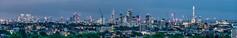 London Skyline (davidcl0nel) Tags: 2016 canon canon5dmarkiii ef70200f28lisiiusm panorama skyline london night nacht view parliamenthill shard walkietalkie leadenhall isleofdogs canarywharf hampsteadheath