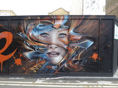 Mr Shiz graffiti (duncan) Tags: graffiti shoreditch shiz mrshiz olivierroubieu girl