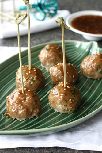 Teriyaki Turkey Meatball Recipe