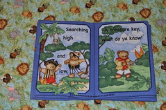 Treasure Bears Fabric Book