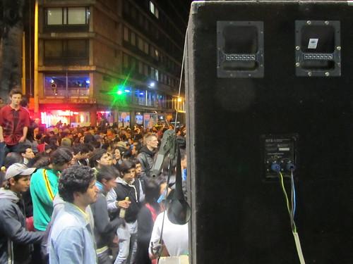 Septimazo_festa na rua principal de bogota