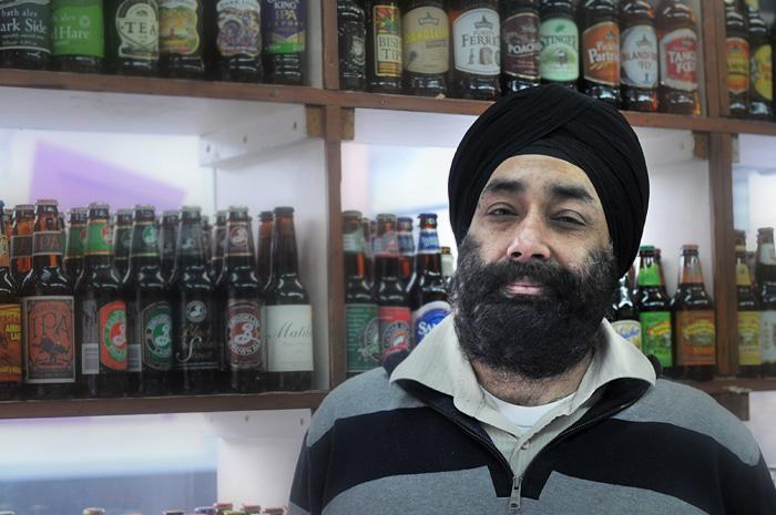 Ravi, the wine merchant of Stroud Green
