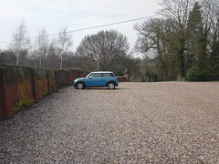 Thomas alone in the Carpark